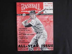 1956 MICKEY MANTLE New York Yankees Triple Crown Baseball Magazine COVER