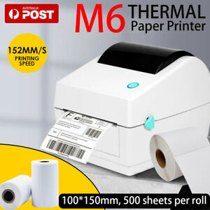 Simple & Durable Thermal Label Printer Shipping Address Barcode 4*6 150mm*100mm