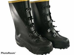LaCrosse Tracktion ZXT Overshoe Men's Size 10 Medium  5 Buckle Boots