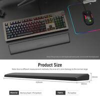 Poggiapolsi per tastiera ergonomica in morbida schiuma in pelle PU per computer
