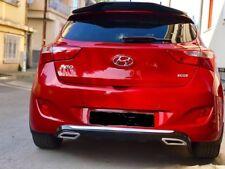 Hyundai I30 Diffuser Rear  HB-2012-2016