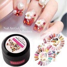Nail Art Rhinestones Gel Glue Adhesives Sticky Crystal Gems Diamond UV LED Glue