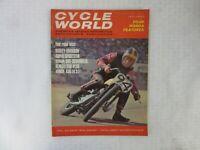 VINTAGE 'CYCLE WORLD' MOTORCYCLE MAGAZINE, DECEMBER 1965