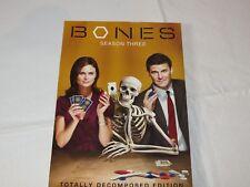 Bones - Season 3 DVD 2009 5-Disc Set Checkpoint Sensormatic Widescreen