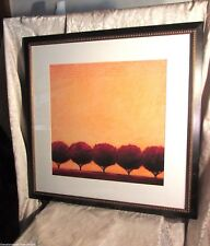 Five Plums Framed Picture Print by Ronald Ray Rogers Editions Limited 35 x 35