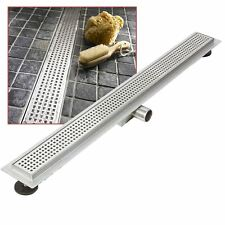 """1600mm Stainless Steel Long """"Rectangular"""" Wetroom / Shower Drainage System"""