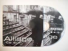 ALLIAGE : CE SOIR [ CD SINGLE PORT GRATUIT ]