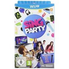 Sing Party Nintendo Wii u PAL Reino Unido