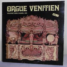 """33T ORGUE VENITIEN Vol.1 Disque Vinyle LP 12"""" DANIEL SIX - VL001 RARE"""