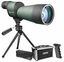 Barska AD11008 Benchmark 12-60x78 Straight Spotting Scope with Handheld Tripod