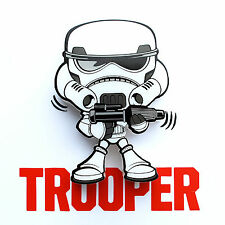 Star Wars 3D FX Deco LED Luce di notte Parete Mini Stormtrooper Troope Lampada