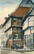 Ansichtskarte Nordhausen Barfüsserstrasse 1913