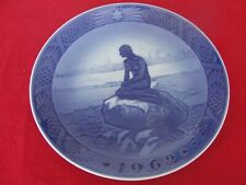1962 ROYAL COPENHAGEN CHRISTMAS  OLD PLATE MERMAID