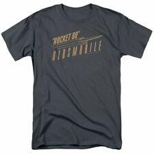 Oldsmobile Retro 88 T Shirt Mens Licensed Auto Car Rocket Tee Charcoal
