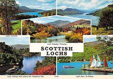 B101901 scottish lochs loch earn st fillans   scotland