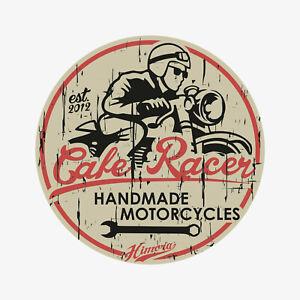 Cafe Racer Sticker // Aufkleber Motorrad Harley Davidson Kawasaki