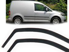 Windabweiser Regenabweiser für VW Caddy tuning Regenschutz Wind Fenster Visor