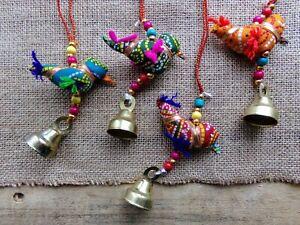 Bird Hanging Decoration, Boho, Hippie, Brand New, Fair Trade Ethical & Handmade