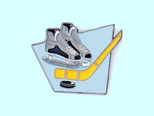 Hockey Stick, Boots & Puck Lapel Pin - Cool Design & Great Party Favors