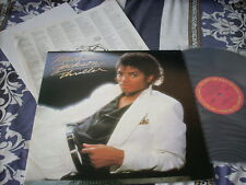 """a941981 Michael Jackson HK 12"""" LP Thriller with Poster"""