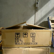 1 carboard removal box packing moving for book CD TV home cleaning47.8x43x14.3cm