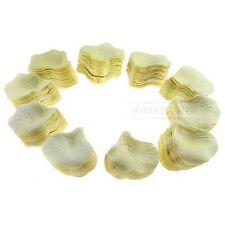 1000 Pale Yellow Silk Rose Petals Wedding Flowers New