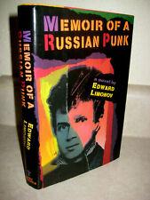 Memoir of a Russian Punk By Edward Limonov Novel 1st Edition First Printing