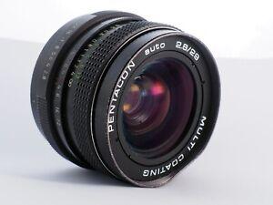 Pentacon 29 mm f/2.8 M42 lens