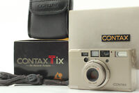 """""""MINT"""" Contax Tix Carl Zeiss 28mm f/2.8 Point&Shoot APS Film From JAPAN #664"""