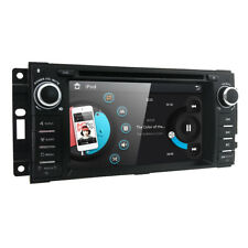 JEEP WRANGLER JK 07-15 IN DASH GPS DVD NAV HEAD UNIT STEERING FACTORY FIT STEREO