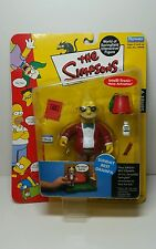 THE SIMPSONS INTERACTIVE SUNDAY BEST GRAMPA FIGURE SERIES 9 - Brand New!!