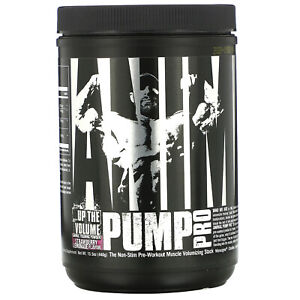 Universal Nutrition Animal Pump Pro Non-Stim Pre-Workout Strawberry 440gr 20serv