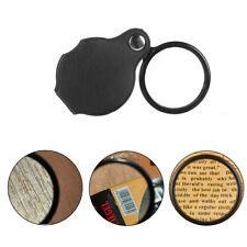 Glasses Educational Tool Loupe Portable Pocket Jewelry Magnifier Eye Glass Lens