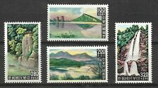 Roc 1961 #1323-1326 Set Mnh Taiwan Scenery Set