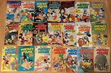 New listing Mickey Mouse Lot of 21 Comics Gladstone /Disney 1987-1990