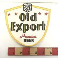 Large Vintage OLD EXPORT PREMIUM BEER Advertising Patch 05L