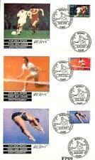BRD 1988: Sporthilfe! FDC der Nr. 1353-1355 mit Bonner Sonderstempeln! 20-04