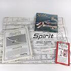 Vtg Great Plane Spirit Model Airplane INSTRUCTION BOOK + PLANS for SPRTP01