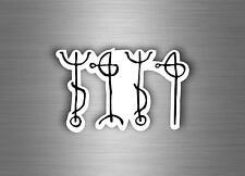 Adesivi adesivo sticker macbook laptop runico viking vichingo islanda magia r13