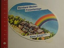 Aufkleber/Sticker: Bernhard Becker Freizeitanlage Kenn Tor zur (28071693)