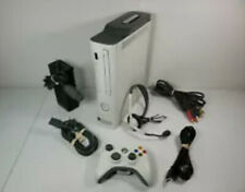 Microsoft Xbox 360 60Gb w/5 Games, Controller, Headset & Cords Tested Works