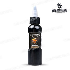 Dragonhawk TATTOO INK 1-PACK Black Color 1oz Bottles Color Ink 30ml Tattoo Part
