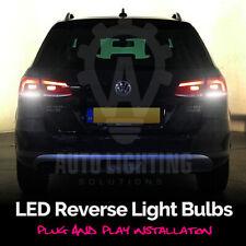 For VW Passat B7 2010-2014 2x White LED Reverse Back Up Light Bulbs Error Free