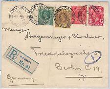 51842 - Gold Coast -  POSTAL HISTORY - STATIONERY COVER from DODOMA to GERMANY