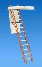 "Rainbow M2254H Prestige Telescoping Attic Ladder/Stair 9'10""H - 11'6""H - ORANGE"
