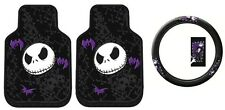 Disney Nightmare Before Christmas Steering Wheel Cover and Floor Mats Gift Set