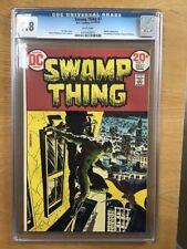 Swamp Thing 7 cgc 9.8 White, Batman