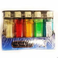 100x GSD Disposable Adjustable Flame Child Resistant Assorted Colours Lighters