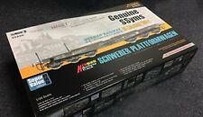 Sabre Model 1/35 GERMAN RAILWAY 6-Axle 80t SSyms SCHWERER PLATTFORMWAGEN #35A05