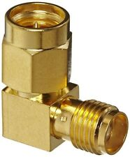 SMA Right Angle Gold 90 Degree Female Socket To Male Plug Coupler Elbow  Adaptor